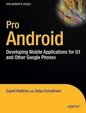 Pro Android: Developing Mobile Applications for G1 and Other Google Phones, Hash