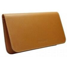 Genuine Samsung EF-C1A2LCE Brown Leather Pouch Case Cover fr Galaxy SII S2 i9100