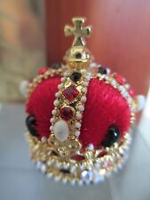 QUEEN ELIZABETH MINIATURE CROWN #61059 *** SEE HOW TO GET FREE DISPLAY CASE