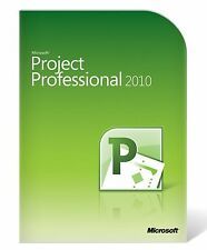 Microsoft Project Professional 2010 - READ DESCRIPTION NO REFUNDS