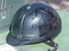 TROXEL LEGACY HORSE RIDING HELMET LARGE Removable Liner Dial for Adjustable Fit