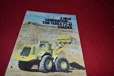 Terex 72-61 Loaders Loader Dealer's Brochure DCPA4 ver3