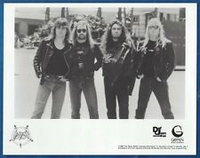 Slayer Vintage Publicity/Press Photo Orig Metallica Megadeth Exodus
