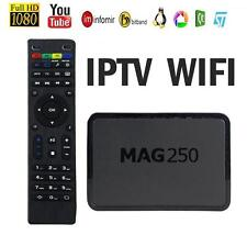 MAG 250 IPTV SET TOP TV BOX Multimedia Player Internet  IP HDTV 1080p HD