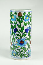 Large Persian design floral vase