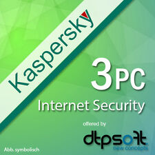Kaspersky Internet Security 3 PC / 3 Devices for Version 2017 Multi 3 USER