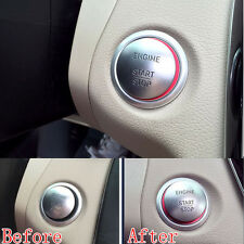 Aluminum Engine Start Stop Circle BUTTON START Ring Cover For GLK ML GL CLA GL