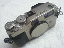 CONTAX G1 CAMERA 35 MM, USED IN EXCELLENT MINT CONDITION.