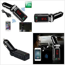 5V/2A USB Port Car SUV Music MP3 Player FM Wireless Bluetooth Phone Handfree Kit