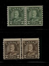 Canada  180 pair, 183 line pair  NH     catalog  $91.00       MS0201