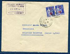 FRANCE - Enveloppe commerciale de Pont Audemer pour Barentin en 1941 réf S 153