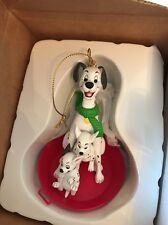 Disney Grolier 101 Dalmatians In Box Christmas Decoration Ornament