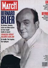 Couverture magazine,Coverage Paris Match 13/04/89 Bernard Blier