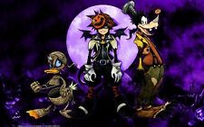 POSTER KINGDOM HEARTS 2 SORA PIPPO PAPERINO NIGHTMARE BEFORE CHRISTMAS #8