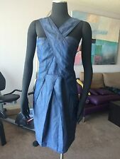 AUTH COP.COPINE DENIM DRESS Sz 38 / S US