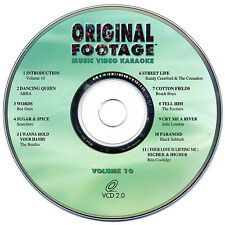 RARE, ORIGINAL FOOTAGE KARAOKE VOLUME 10 - OFV-10 VCD - OUT OF PRINT!!!