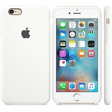 NEW - Genuine Silicone Case for Apple iPhone 6s / 6 in White