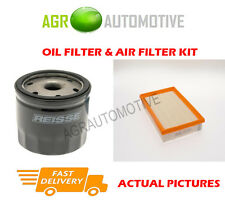PETROL SERVICE KIT OIL AIR FILTER FOR FORD FOCUS C-MAX 1.6 116 BHP 2004-07