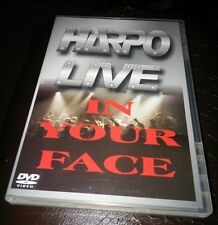 Harpo Live in your Face indie private PA Heavy Metal Dvd