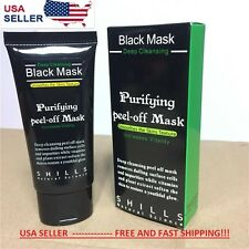 Shills deep Cleansing Black MASK peel-off Facial Clean Blackhead Remover VALUE