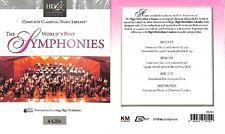 CD The World's Best Symphonies 4 CDs - Complete Classical Music Library (U084)