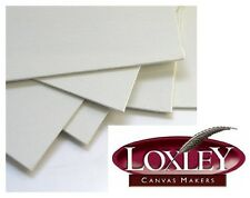 "3 SQUARE 16"" X 16"" BLANK LOXLEY CANVAS ACRYLIC OIL PAINTING BOARDS 406mm x 406mm"