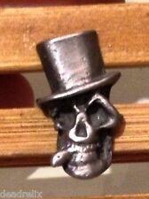 3/4 inch GRATEFUL DEAD RELIX SMOKING ELECTRIC SAM HIPPIE HAT TIE TACK PIN