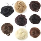 HOT Pony Tail Women Clip in/on Hair Bun Hairpiece Hair Extension Scrunchie M66