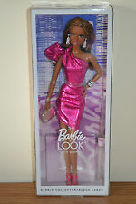 2015 Black Label THE LOOK City Shine #2 AA PINK Dress Barbie BRAND NEW