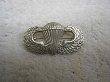 AIRBORNE PARATROOPER PARACHUTIST JUMP WINGS BADGE PIN