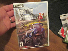 Farming Simulator 15 (PC, 2014) pc dvd rom NEW FACTORY SEALED