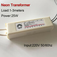 Neon Sign Electronic Transformer 3000V30mA30W 3Meter Neon Power Supply Rectifier