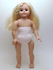 "Alexander Doll Company 18"" Doll Blonde Hair Blue Eyes Nude"