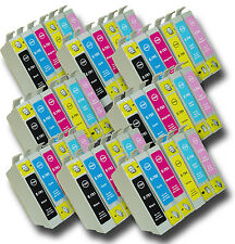48 T0791-T0796 'Owl' Ink Cartridges Compatible Non-OEM Epson Stylus PX820FWD