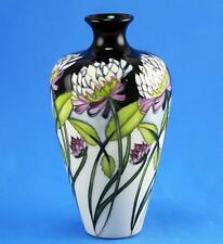 MOORCROFT TREFOIL VASE, SHAPE 72/6, ULTIMATE BEST QUALITY, PERFECT CONDITION