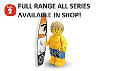 Lego minifigures surfer series 2 (8684) unopened new factory sealed