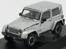 Jeep Wrangler Polar 2014 Silver Greenlight 1:43 GREEN86056