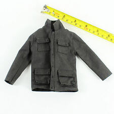 T68-21 1/6 Scale CRAFTONE AGENT - Grey Jacket (Zipper)
