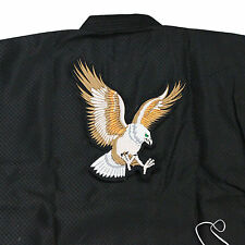 Eagle Patch Embroider Large Size Mixed Martial Arts MMA Uniforms Suits Back Deco