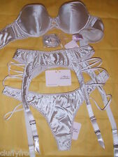 AGENT PROVOCATEUR NUDE STRAPLESS ZSI ZSI 32DD OR 36DD & 3 THONG & SUSPENDER