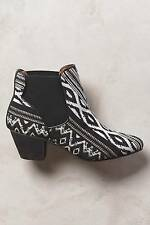 New Anthropologie 67 Collection Judit Tapestry Booties Sz 38 Euro NIP Boots
