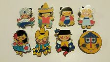 Disney Pins Mystery Pins It's A Small World Mystery Collection Set Of 8