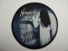 Necrodeath  100%   HELL  WOVEN PATCH