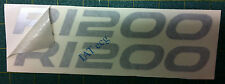 Ad. serbatoio  BMW GS R 1200 dal 2008argento - adesivi/adhesives/stickers/decal