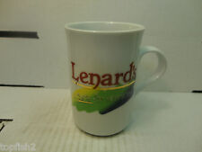 Lenard's A Taste For Everyone! Coffee Mug, 1997 Panache Corporate (Used/EUC)