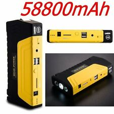 58800mAh 12V Jump Starter Car Emergency Charger Battery Booster Power Bank 2USEK