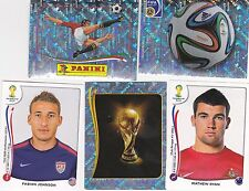 Panini FIFA World Cup Brazil 2014 Stickers - pick any 50 from list