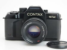 Contax 167mt #048733 + Carl Zeiss planar 1,7/50mm t * #7302851 si252