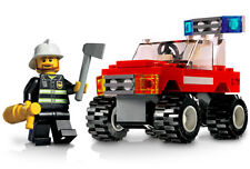 FIRE CAR, Lego City Emergency Rescue 7241, Audited & 100% Complete!