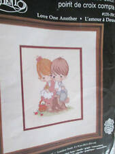Precious Moments Love One Another Cross Stitch Kit -8x10 Inches (20.3x25.4cm)